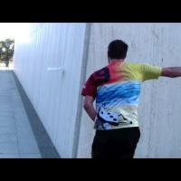 The Wall Ride Trick Shot