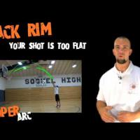 Interactive Basketball Shooting Guide (First on YouTube) - Off Back Rim (Brick)