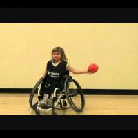 wheelchair basketball  - Passing a Ball