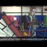How to teach uneven bar releases instructional video