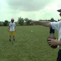 Three Line Ball Football Drill for Linebackers