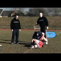 'Support Play At The Ruck' Rugby Training Drill