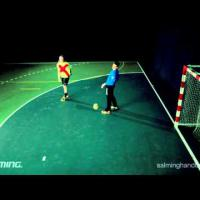Handball Goalkeeper - Far corner save