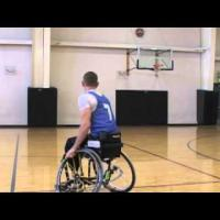 Wheelchair basketball - Dribbling