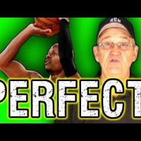 Get Perfect Shooting Form! (Form Shooting Drill)