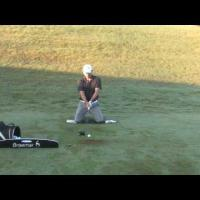 Golf Drill fix your slice Knee Drill