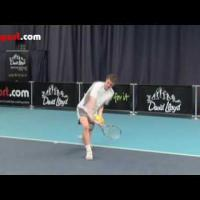 Tennis Backhand- Topspin Technique