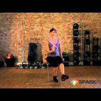 Seated Cardio Workout: Burn Calories Exercising from a Chair
