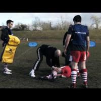 '2 Vs 2 Tackle & Poach' Rugby Training Drill