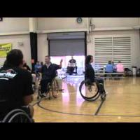 Wheelchair basketball - Shooting- Beginner to Advanced part 2