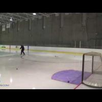 One Timer Hockey Shot Practice