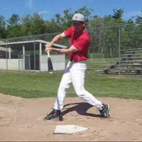 Hitting the ball at the Contact Position