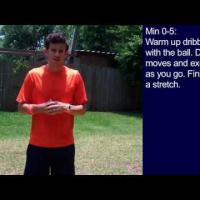 Drills in Soccer - 30 Minute Soccer Training Session  16