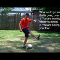 How to Kick a Soccer Ball: How to Shoot a Soccer Ball with Power
