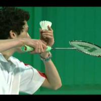 Badminton Technique - Forehand High Serve
