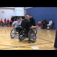 Wheelchair basketball - Skills Training- Half Court Offense Part 3