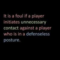 Football: What is a Defenseless Player?